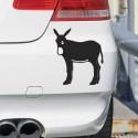 Pegatina burro