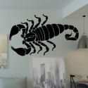 Pegatina escorpión