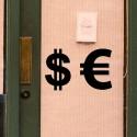 Pegatina signo Euro
