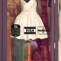 Pegatina tarjetas de crédito