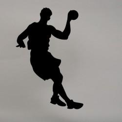 Vinilo jugador balonmano