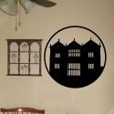 Vinilo decorativo casa del terror