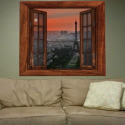 Vinilo decorativo ventana personalizada