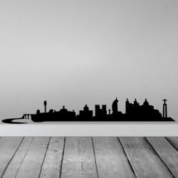 Vinilo skyline Lisboa