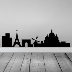 Vinilo skyline París