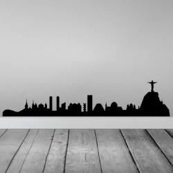 Vinilo skyline Río de Janeiro