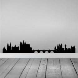 Vinilo skyline Praga
