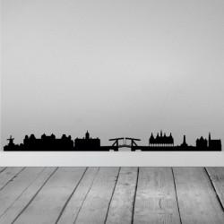 Vinilo skyline Ámsterdam