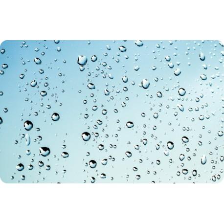 Vinilo portátil gotas agua