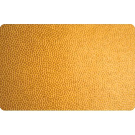 Pegatina portátil cuero amarillo