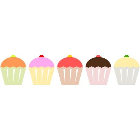 Vinilos cupcakes