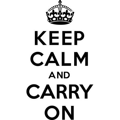 Adhesivo keep calm