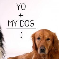 Vinilo yo y mi perro