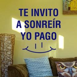 Vinilo te invito a sonreír