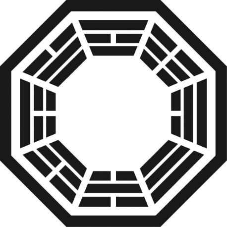 Vinilo portátil Dharma Lost