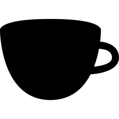 Vinilo pizarra taza