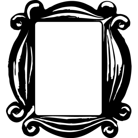 Vinilo marco mirilla portátil