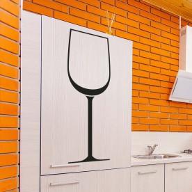 Vinilo copa vino