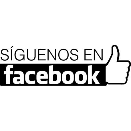 Vinilo síguenos en Facebook