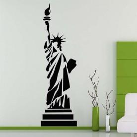 Vinilo estatua libertad NY