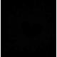 Vinilo decorativo salpicadura corazón