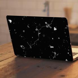 Adhesivo portátil mármol negro