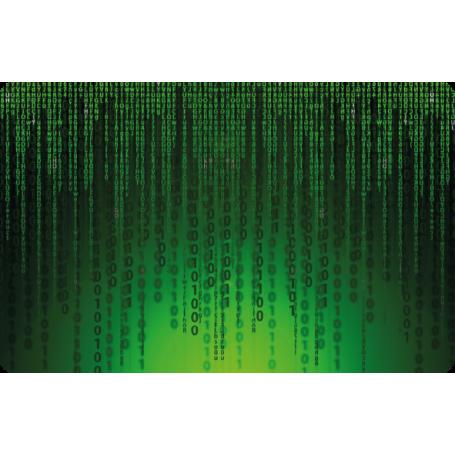 Adhesivo para portátil números matrix
