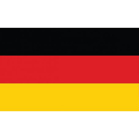 Vinilo decorativo bandera Alemana