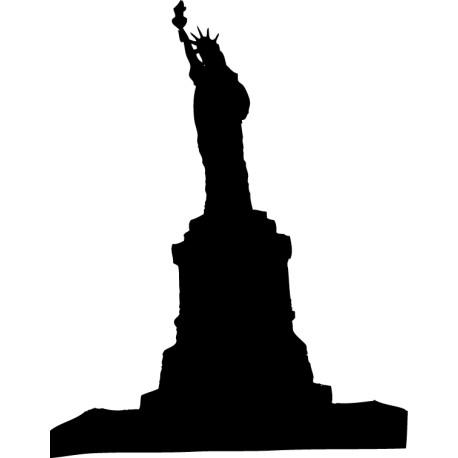 Vinilo adhesivo Estatua de la Libertad