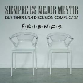 Vinilo es mejor mentir Friends