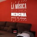Vinilo música medicina