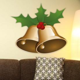 Vinilo campanas navideñas