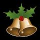 Vinilo decorativo campanas navideñas