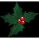 Vinilo decorativo navideño muérdago