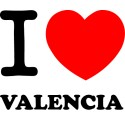Vinilo i love Valencia