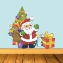 Vinilo ilustración Navidad
