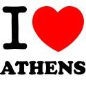 Vinilo i love Athens