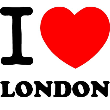 Vinilo i love London