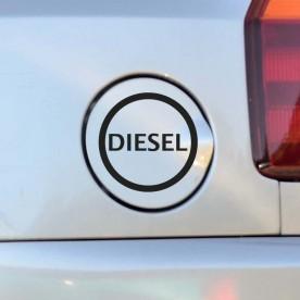 Vinilo coche diésel