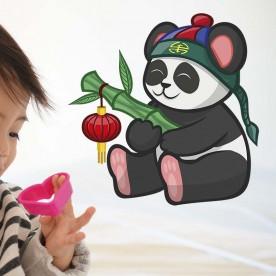 Vinilo panda chino