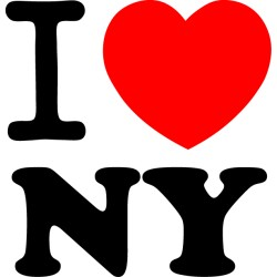 Vinilo i love New York