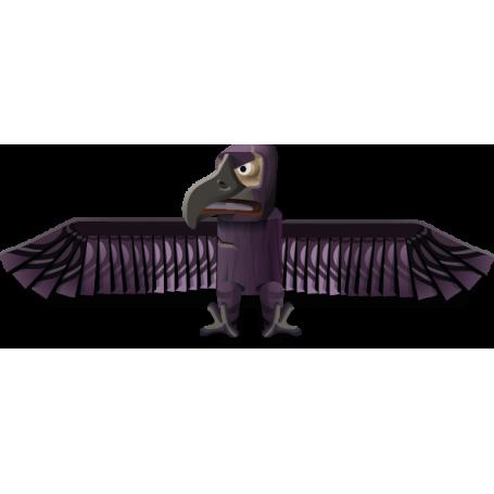 Vinilo decorativo pájaro egipcio
