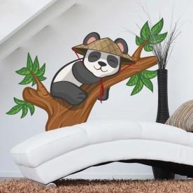 Vinilo panda rama