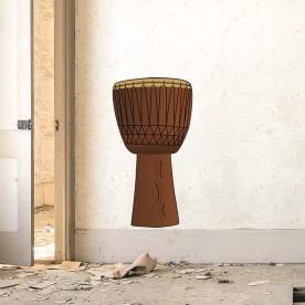 Vinilo tambor étnico