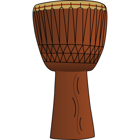 Vinilo decorativo tambor étnico
