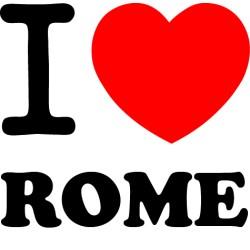 Vinilo i love Rome