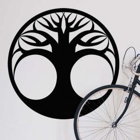 Adhesivo árbol vida simple