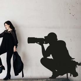 Vinilo fotógrafo