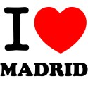 Vinilo i love Madrid