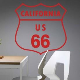 Vinilo California Ruta 66